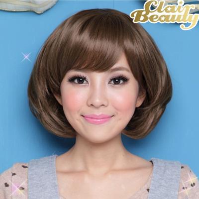 女星小S時尚俐落修臉短髮【MB039】高仿真超自然整頂假髮☆雙兒網☆