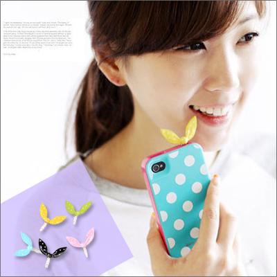 ☆雙兒網☆ 綺麗時分 【o962】韓國熱賣兔子耳朵防塵塞耳機塞適用iphone4/6S htc Samsung