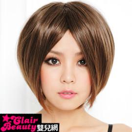 ☆雙兒網☆優質假髮(現+預)【A018】上戶彩中分俏麗短直髮