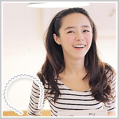☆雙兒網☆百變公主女孩-造型波浪髮箍【AKH30】時尚波浪髮箍