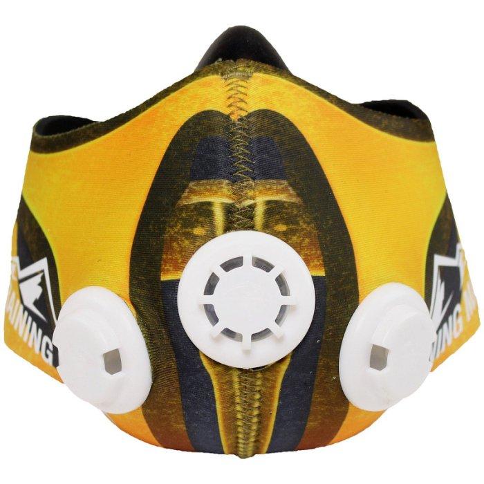 公司貨-肺活量訓練馬拉松~MMA訓練高海拔面罩Training Mask忍者面罩皮~真人快打-M size