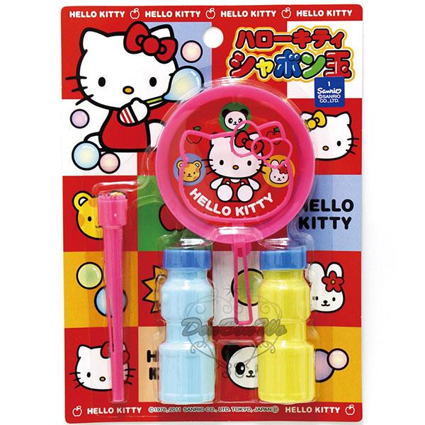 KITTY歡樂泡泡玩具組吹泡泡710013海渡