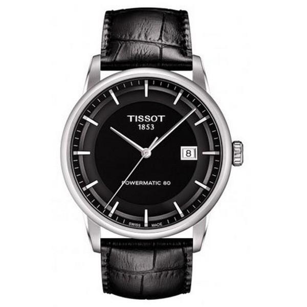 TISSOT天梭T0864071605100 獨家經典80小時動力儲存機械腕錶/黑面41mm