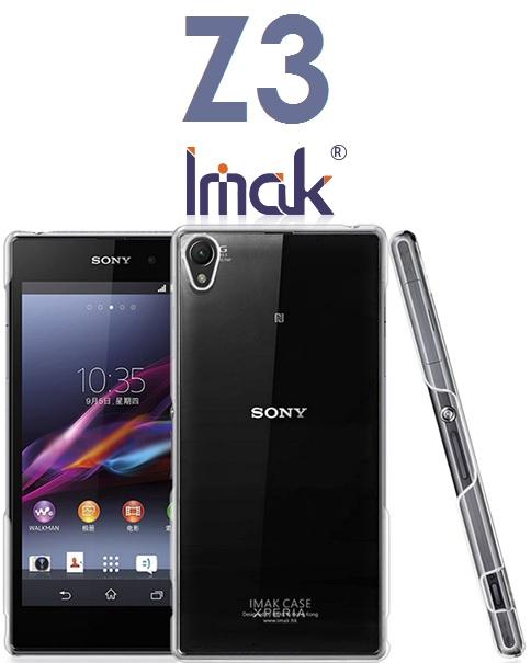 【IMAK 艾美克】索尼 Sony Z3(D6653)水晶保護殼 加強耐磨版 透明保護殼 硬殼 水晶殼 (羽翼II 羽翼2)