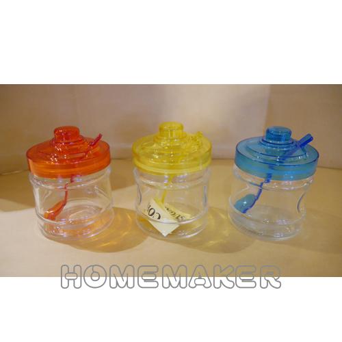 3色玻璃容器(附湯匙)_G-10C722