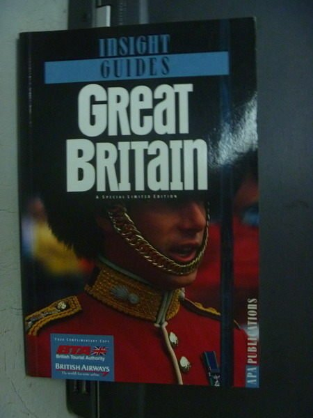 【書寶二手書T7/地理_OGZ】Insight Guides_Great Britain