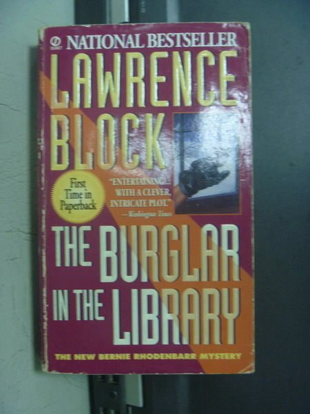 【書寶二手書T4/原文小說_OOL】The burglar in the Library_Lawrence Block