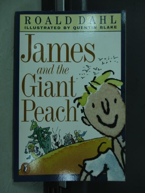 【書寶二手書T1/語言學習_MPT】James and the Giant Peach