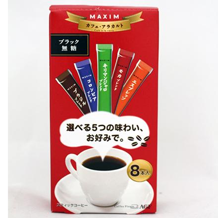 【敵富朗超巿】MAXIM Stick 咖啡-五種綜合咖啡