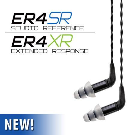 志達電子 ER4SR/XR 美國音特美Etymotic ER4SR ER4XR 耳道式耳機 MMCX 可換線式