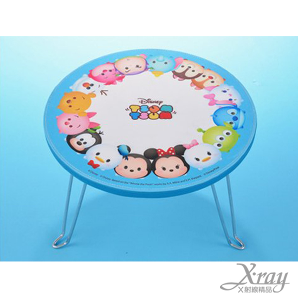 X射線【C012878】迪士尼TSUMTSUM迷你摺疊桌景品,兒童桌/收納/矮桌