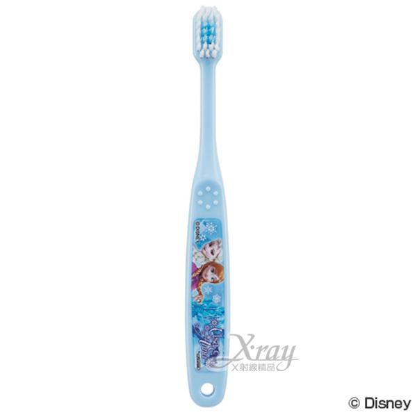 X射線【C292637】冰雪奇緣牙刷3-5歲,幼兒專用/預防蛀牙/開學必備