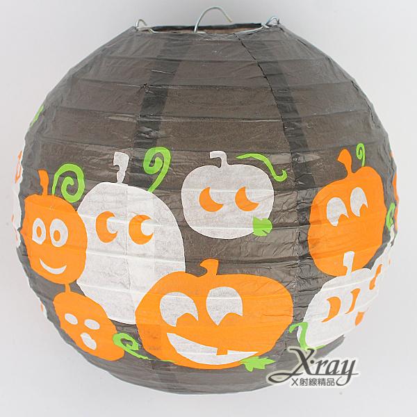 X射線【W405389】蝙蝠紙燈籠,萬聖節南瓜糖果籃/南瓜桶/派對用品/表演造型