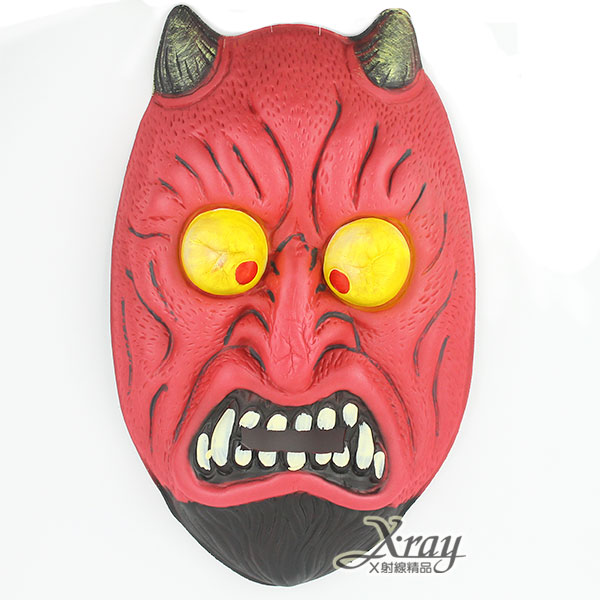 X射線【W432026】大號EVA面具-禿眼鬼,萬聖節/武器道具/派對道具/角色扮演/化妝舞會