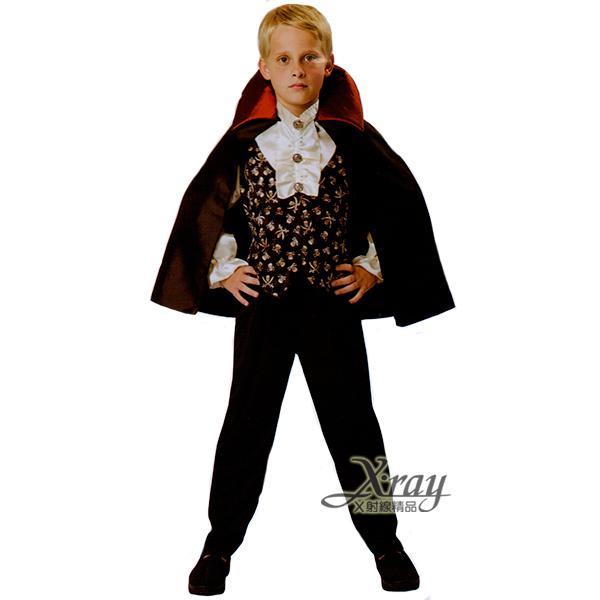 X射線【W370048】豪華 吸血鬼,死神/鐮刀/萬聖節服裝/死神/吸血鬼/兒童變裝/惡魔