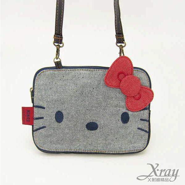 X射線【C087881】Hello Kitty斜背包-EDWIN,側背包/肩背包/包包