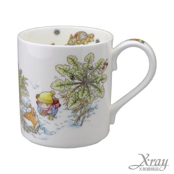 X射線【C123518】龍貓骨瓷馬克杯,杯子/水杯/宮崎駿