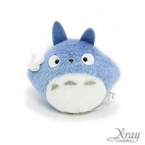 X射線【C138130】龍貓拉震絨毛娃娃(藍),擺飾/公仔/宮崎駿