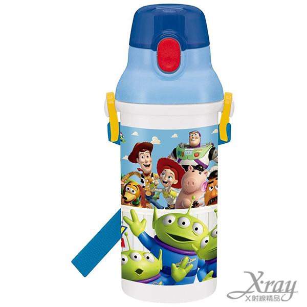 X射線【C323171】玩具總動員水壺,彈蓋水瓶/隨身瓶/飲水壺/外出水壺/防漏/單手操作