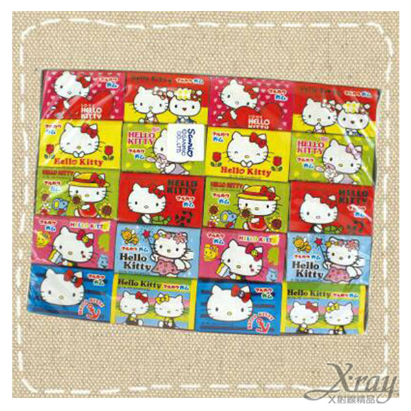 X射線【C457551】丸川製果-Kitty口香糖,點心/糖果/餅乾