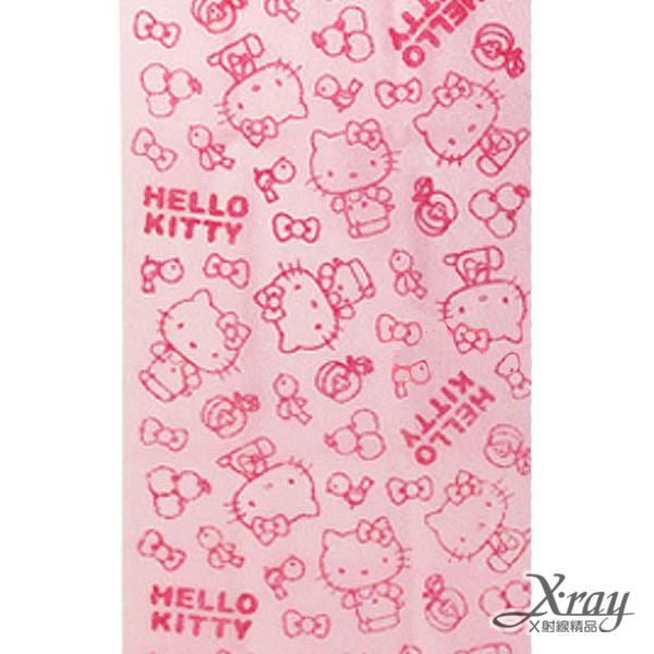 X射線【C263888】Hello Kitty沐浴巾(粉),澡巾/刷背巾/沐浴巾/台灣製
