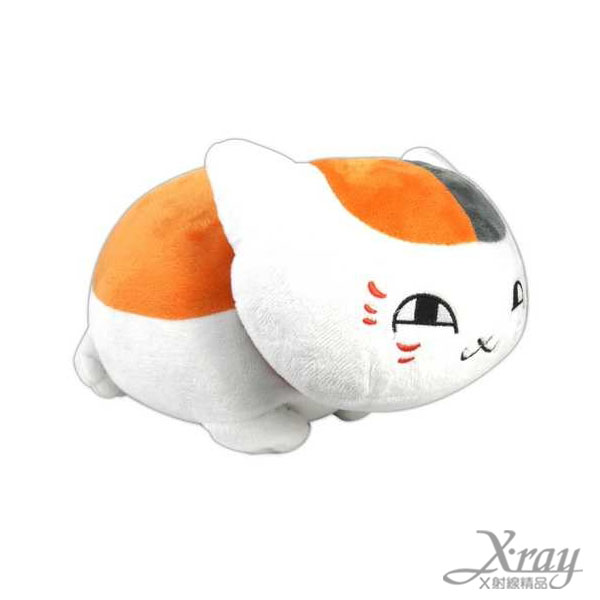 X射線【C738832】夏目友人帳貓咪老師布偶,娃娃/紓壓小物