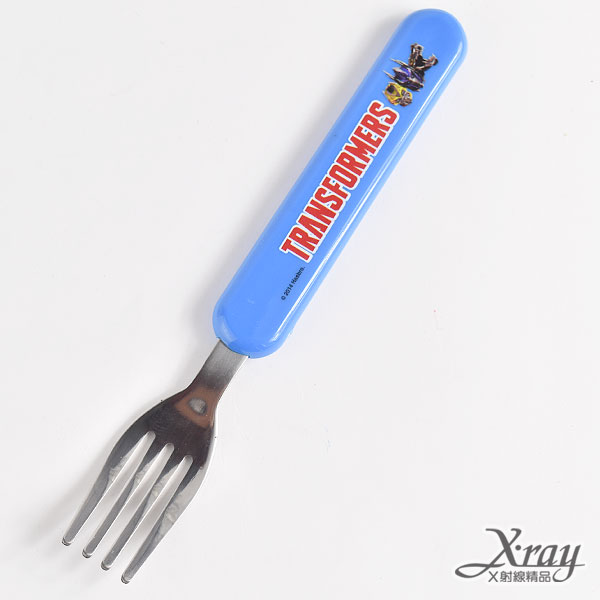 X射線【C183650】變形金剛不鏽鋼叉子,便當餐具/環保餐具/開學必備/卡通/日本製