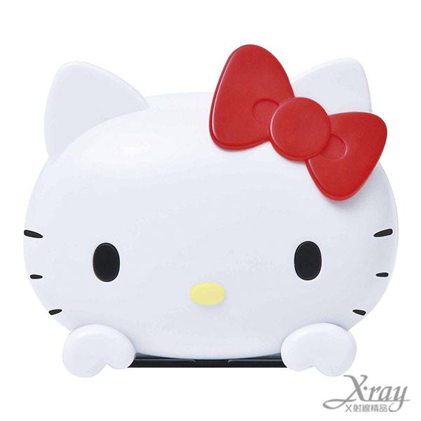X射線【C864834】hello kitty 車用時鐘,汽車配件/車用必備