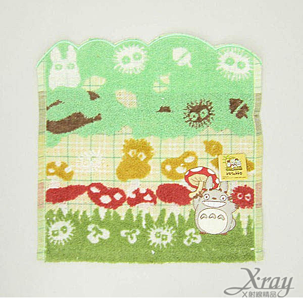 X射線【C572872】TOTORO 毛巾(香菇),浴巾/毛巾/盥洗小物/龍貓/宮崎駿