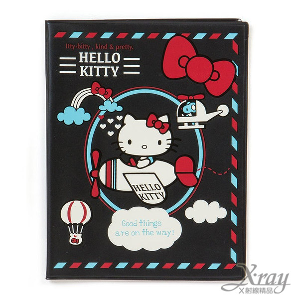 X射線【C683996】Hello Kitty 護照套,存摺簿套/帳冊套/護照套/文件套/資料夾/照片夾