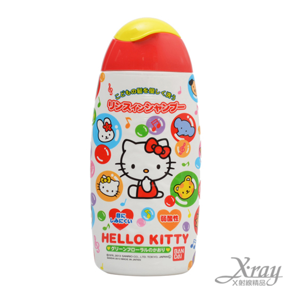 X射線【C786326】Hello Kitty 洗髮精,盥洗/卡通/可愛日式/旅行/攜帶方便