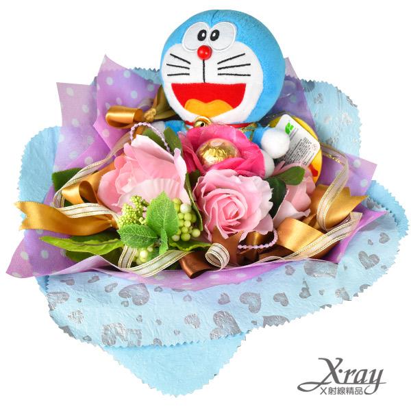 X射線【Y999935】小叮噹金莎花束,情人節金莎花束/捧花/情人節禮物/婚禮小物