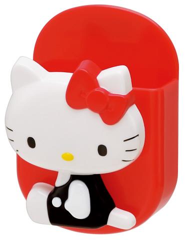 X射線【C126222】kitty多用途冰箱收納盒/置物盒/磁鐵夾/筆筒