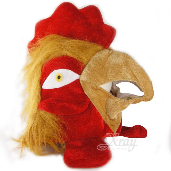 X射線【W100181】動物造型帽(公雞),萬聖節/Party/角色扮演/化妝舞會/表演造型都合適~