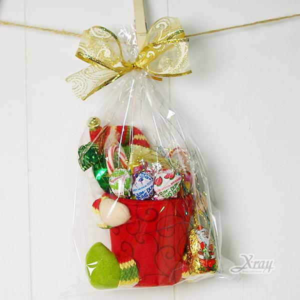 X射線【X2952261】聖誕老公公玩偶置物箱糖果組,聖誕佈置/聖誕掛飾/裝飾/吊飾/聖誕樹