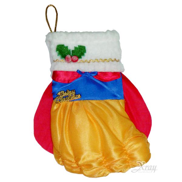 X射線【X383946】聖誕公主造型襪,聖誕衣/聖誕帽/聖誕襪/聖誕禮物袋/聖誕老人衣服