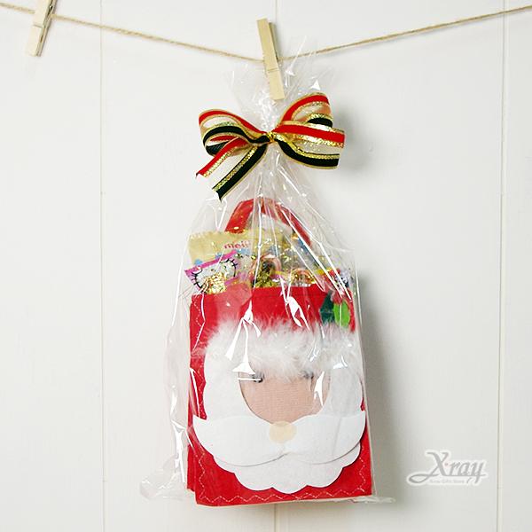 X射線【X000000】糖果老公公聖誕禮物袋, 聖誕衣/聖誕帽/聖誕襪/聖誕禮物袋/聖誕老人衣服