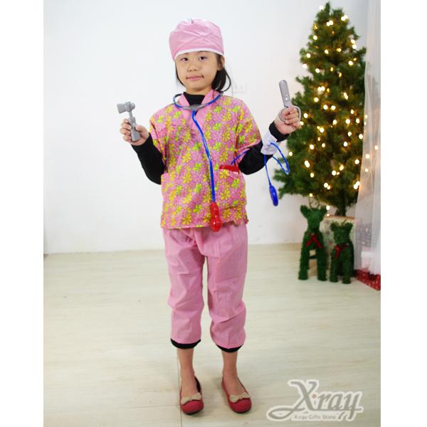 X射線【X380028】護士裝,聖誕衣/萬聖節服裝/化妝舞會/派對道具/兒童變裝/職業
