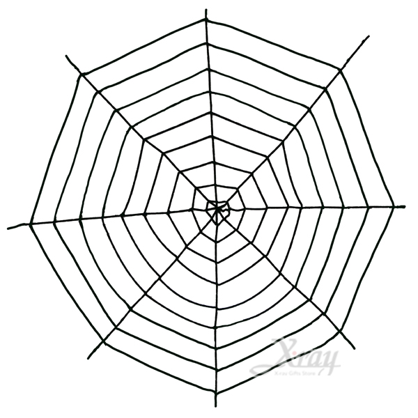 X射線節慶王【W645677】9尺絨毛蜘蛛網,萬聖節/造型燈/佈置/裝飾/擺飾/會場佈置/蜘蛛絲