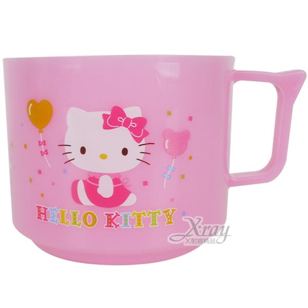 X射線【C101485】kitty馬戲團塑膠杯(有耳),漱口杯/水杯//開學必備