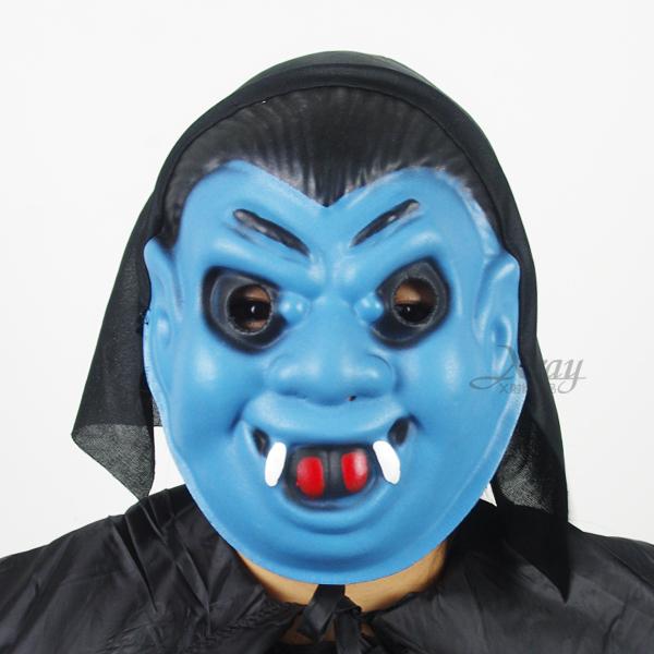 X射線【W401572】EVA厚全罩面具-吸血鬼,萬聖節服裝/派對用品/尾牙表演/角色扮演