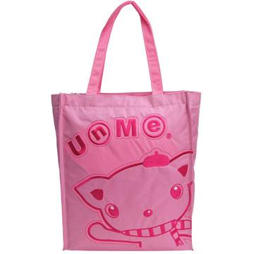X射線【Cp1318B】UnMe多功能手提便當袋萬用提袋(粉紅)台灣製造,開學必備/兒童書包/雙肩包