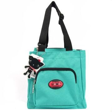 X射線【Cg3112】UnMe多功能手提便當袋萬用提袋(藍綠)台灣製造,開學必備/兒童書包/雙肩包/手提包