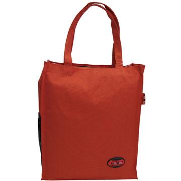 X射線【Cr1318】UnMe多功能手提便當袋萬用提袋(紅)台灣製造,開學必備/兒童書包/雙肩包/手提包