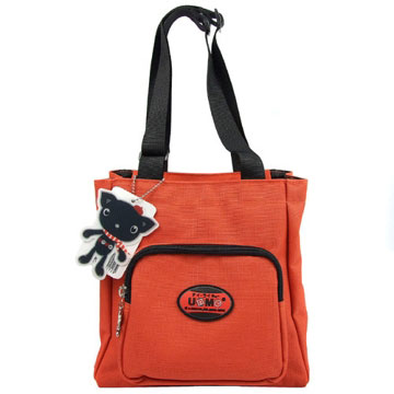 X射線【Cr3112】UnMe多功能手提便當袋萬用提袋(紅)台灣製造,開學必備/兒童書包/雙肩包/手提包