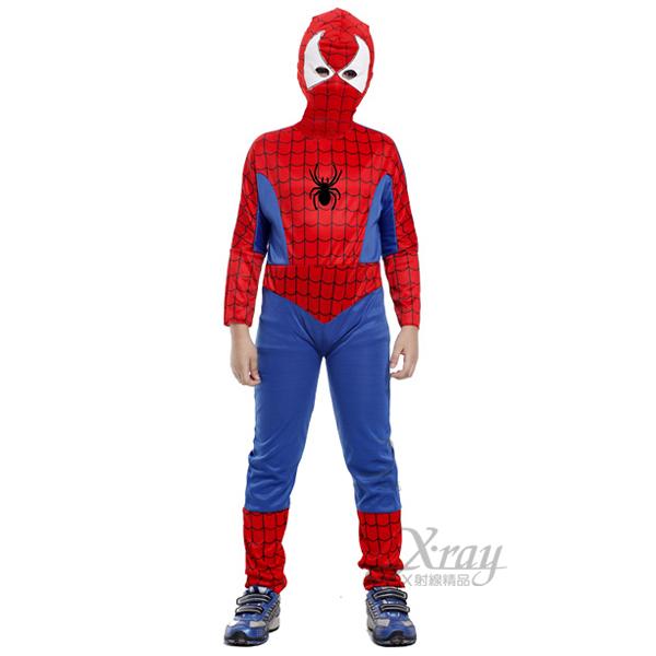X射線【W912527】蜘蛛人超人裝,化妝舞會/角色扮演/尾牙表演/萬聖節/聖誕節/兒童變裝/cosplay