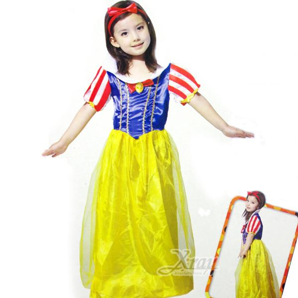 X射線【W644137】俏麗白雪公主,萬聖節服裝/化妝舞會/派對道具/兒童變裝