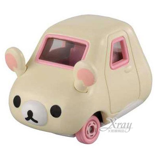 X射線【C499060】懶熊牛奶熊造型小車《米白》經典造型值得收藏,模型車/造型車/玩具車
