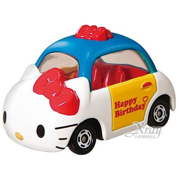 X射線【C806332】Hello Kitty 造型小車40週年特別版《藍》經典造型值得收藏,模型車/造型車/玩具車