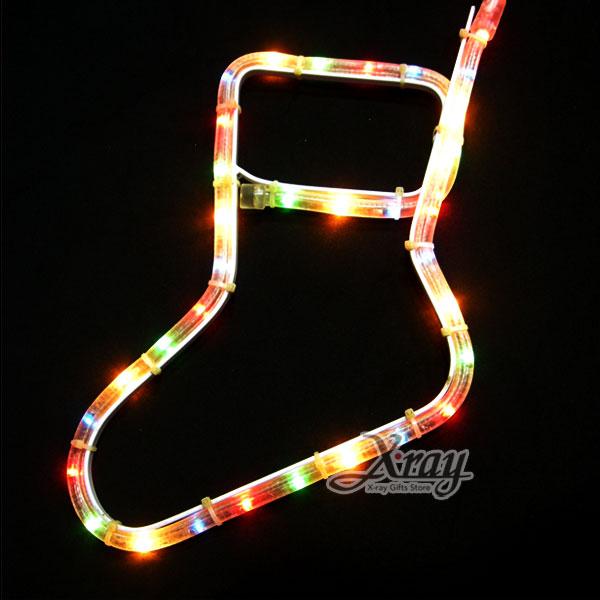 X射線【X150003】非霓虹-襪子, LED燈/聖誕燈/裝飾燈/燈飾/造型燈/聖誕佈置